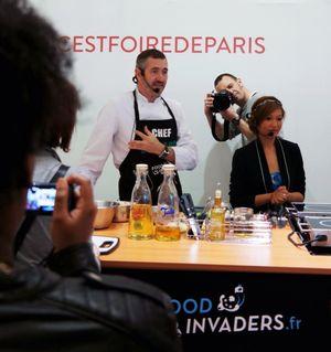 Atelier recette à la foir de Paris