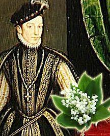Charles IX tenant une fleur de Muguet