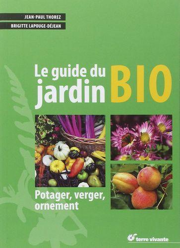 couverture le guide du jardin Bio